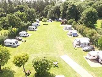Poppyland - Adult Only, Dog Friendly - Caravan Touring Park and